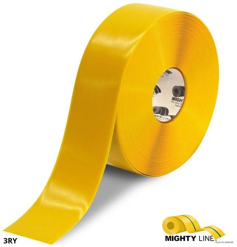 RoboteQ MIGHTY LINE 3IN YELLOW Magnetic Tape roll 마그네틱 테이프 롤